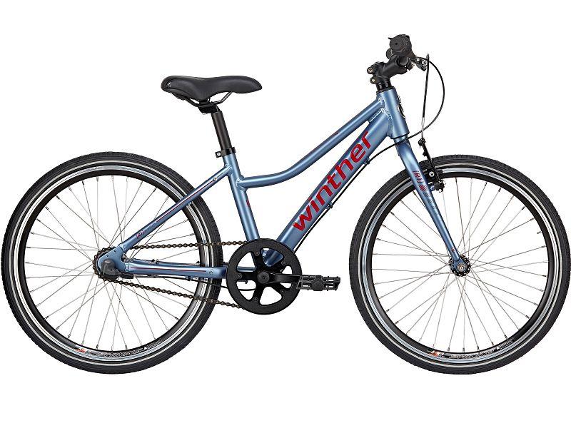 """Winther R1 Sport 20"""" blå - Pigecykel - 2019"""
